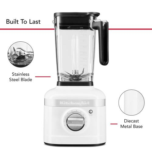 K400 Variable Speed Blender - White