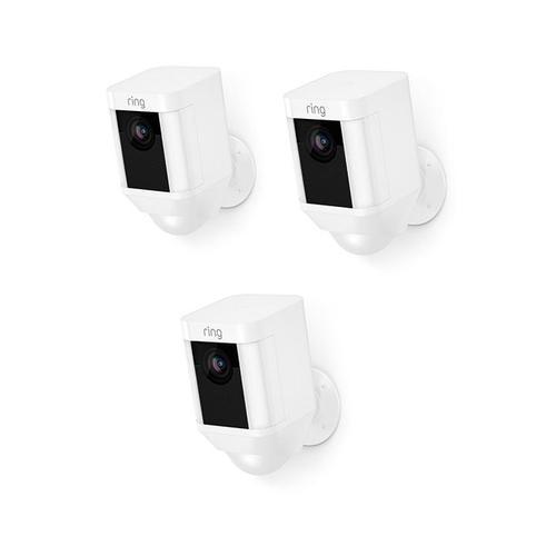 3-Pack Spotlight Cam Battery - White