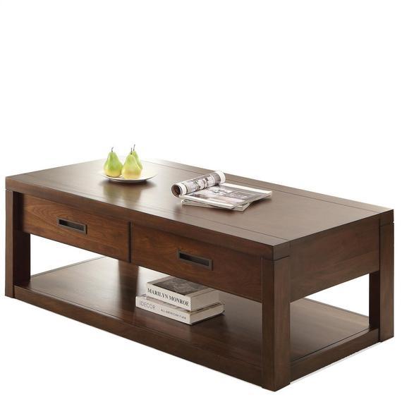 Riverside - Riata - Rectangular Coffee Table - Warm Walnut Finish