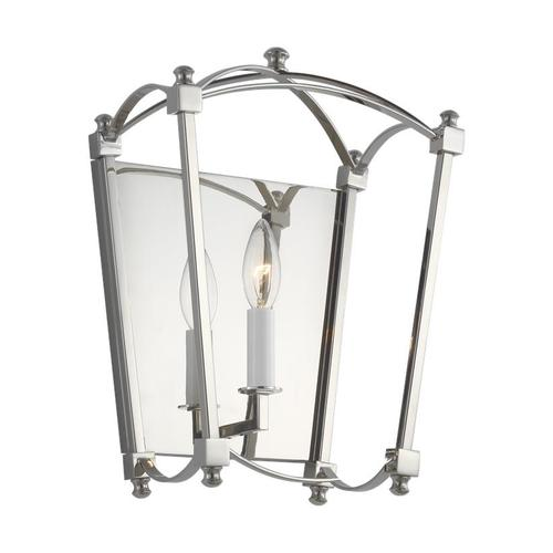 Thayer Sconce Polished Nickel