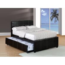 Full Trundle Bed Espresso