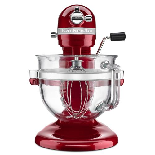 Professional 6500 Design™ Series 6 Quart Bowl-Lift Stand Mixer - Candy Apple Red