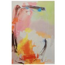 Abstract Motion  Printed & Hand Embellished on Stretched Canvas  Hanging Hardware Included  Artis