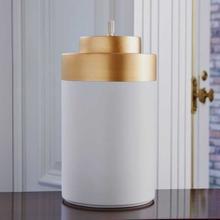 Cylinder Jar White