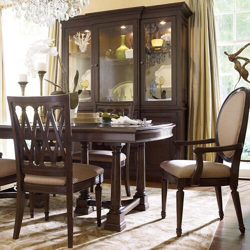 Dark Brown Cherry Meadowbrook Manor Side Chair