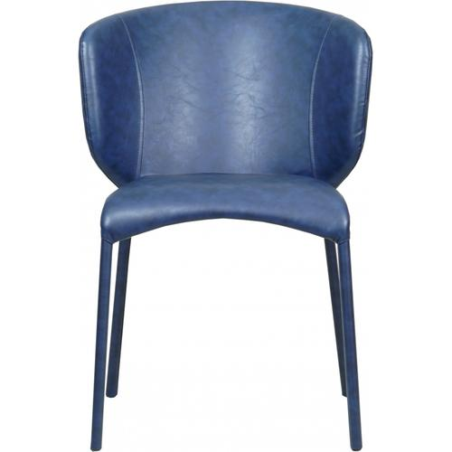 """Drew Faux Leather Dining Chair - 17.5"""" W x 21"""" D x 31.5"""" H"""