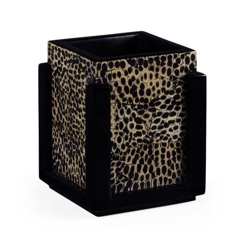 Rectangular pencil box