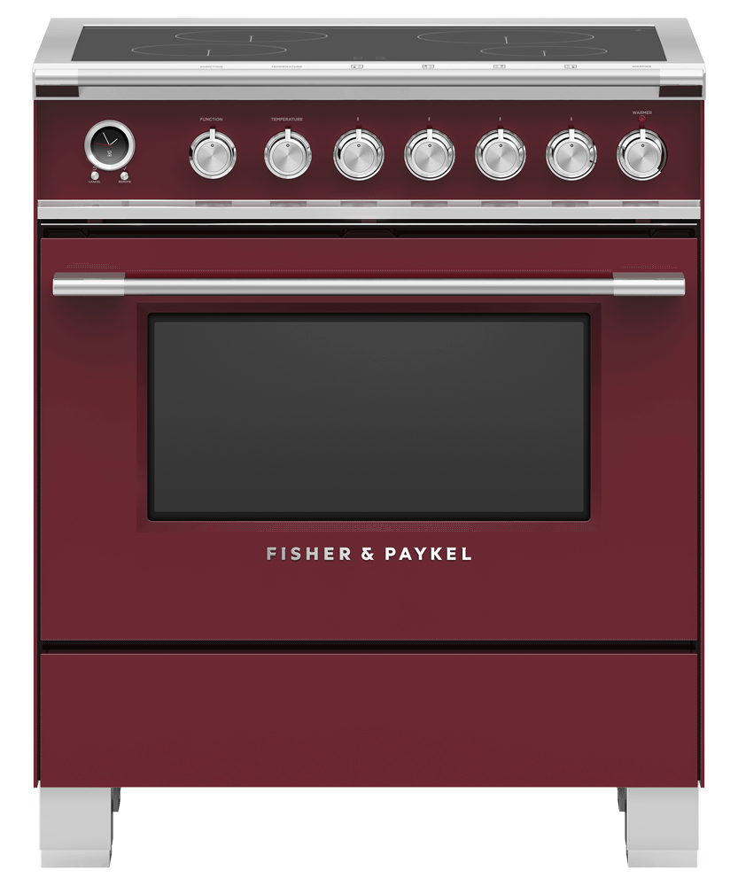 """Fisher & PaykelInduction Range, 30"""", 4 Zones, Self-Cleaning"""