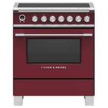 "Induction Range, 30"", 4 Zones, Self-cleaning"