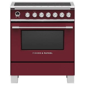 "Fisher & PaykelInduction Range, 30"", 4 Zones, Self-cleaning"