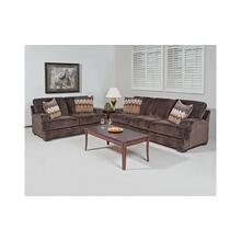 Olympian Chocolate / Padma Otter Loveseat