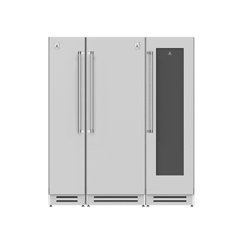 "Hestan - 72"" Column Freezer (L), Refrigerator and Wine Cellar ® Ensemble Refrigeration Suite - Citra"