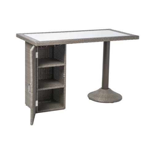 Alfresco Home - Lakeside Gathering Table w/ wine shelf
