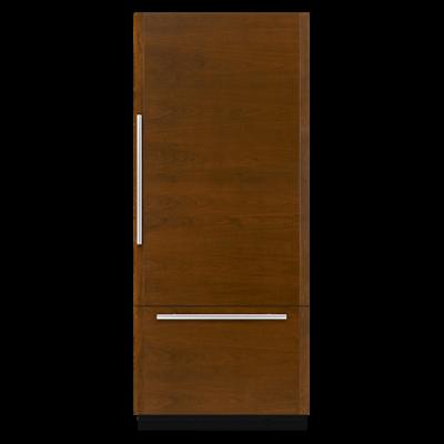 """Jennair36"""" Fully Integrated Built-In Bottom-Freezer Refrigerator (Right-Hand Door Swing)"""