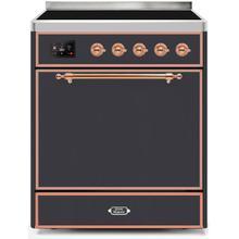 30 Inch Matte Graphite Electric Freestanding Range