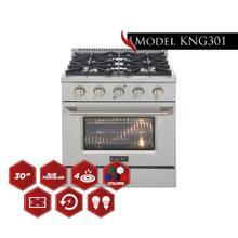"See Details - 30"" Pro Class Kitchen Range"