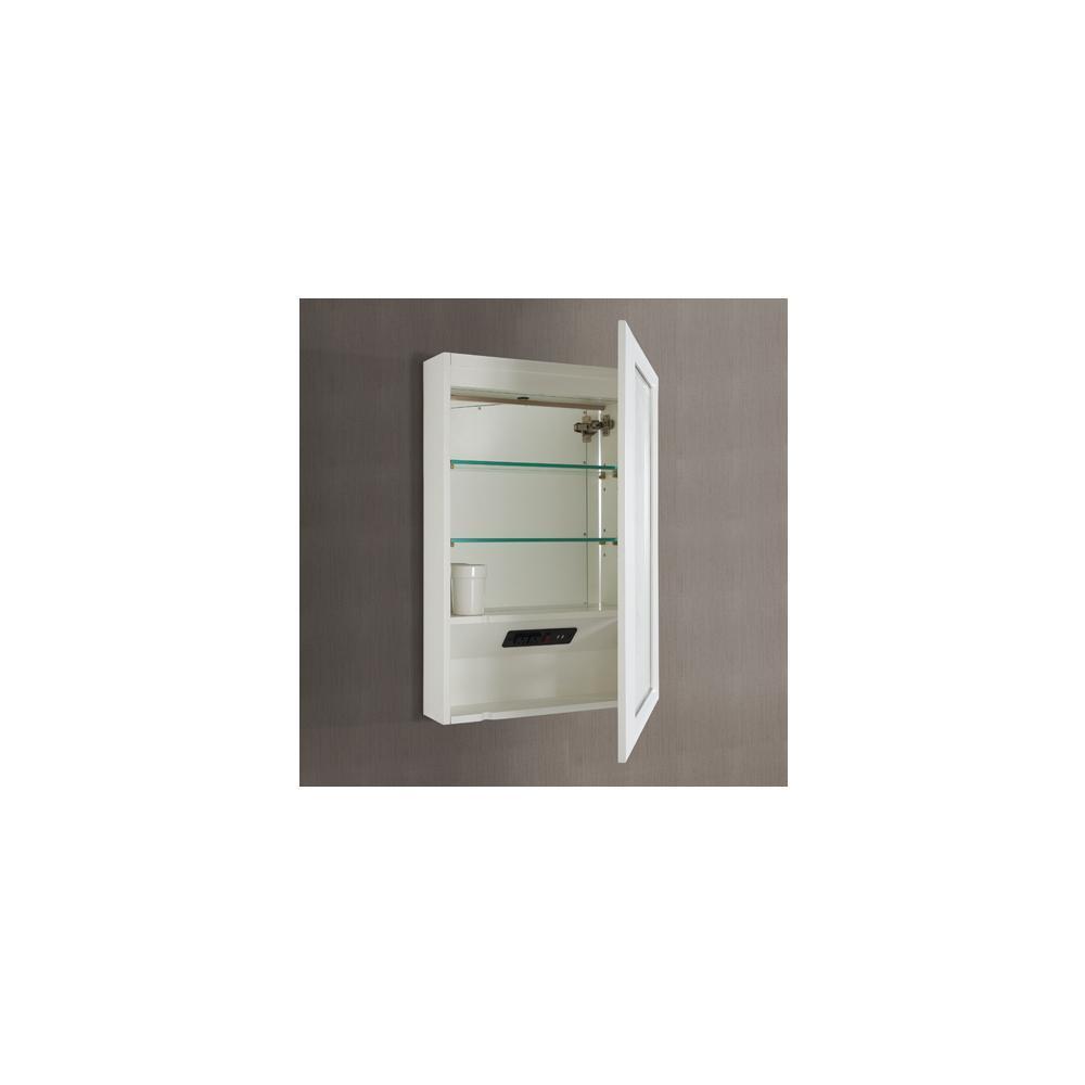 "Revival 20"" Medicine Cabinet-right - Glossy White"