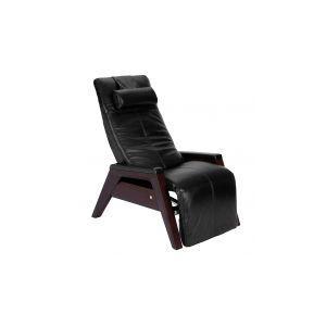 Human Touch - Gravis ZG Chair - Black - Mahogany