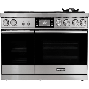 "Dacor48"" Range, Stainless Steel, Natural Gas/High Altitude"