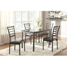 See Details - 5PC SET (Table with 4 Chairs)