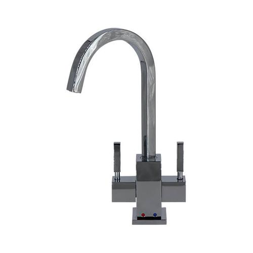 Mountain Plumbing - Hot & Cold Water Faucet with Contemporary Square Body - English Bronze