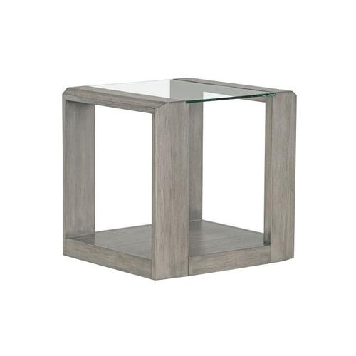Sonata Grey End Table