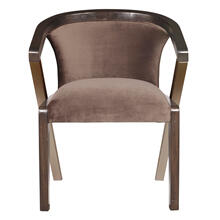 Metal Accent Dining Chair
