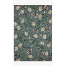 View Product - JOI-03 RP Peonies Emerald Rug
