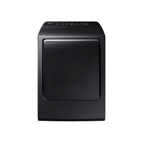 7.4 cu. ft. Gas Dryer with Integrated Touch Controls in Black Stainless Steel