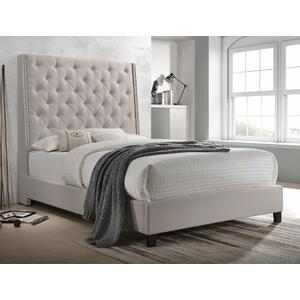 Chantilly Q Headboard Khaki