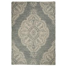 "Athena-Medallion Grey - Rectangle - 27"" x 45"""