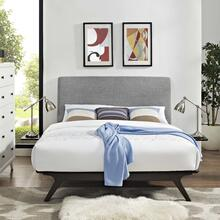 See Details - Tracy 3 Piece Queen Bedroom Set in Cappuccino Gray