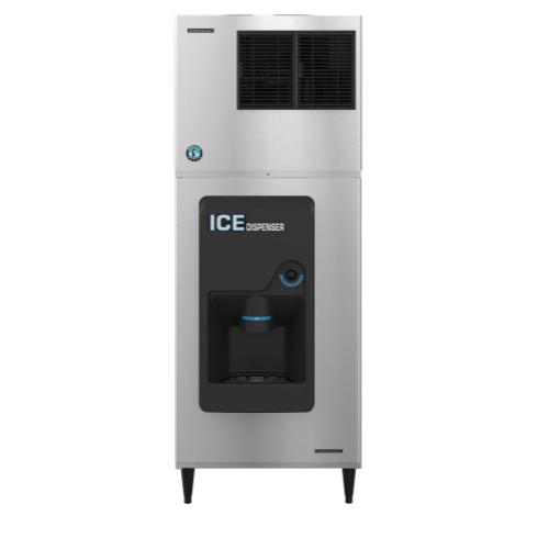 "DB-200H, 30"" W Hotel/Motel Ice Dispenser with 200 lbs Capacity - Stainless Steel Exterior"