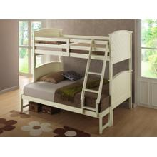 Brook White Youth Bunk Bedroom