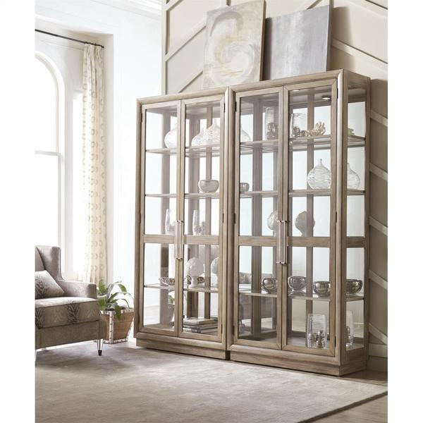 See Details - Sophie - Display Cabinet - Natural Finish