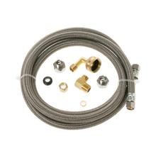 See Details - 6' Universal Dishwasher Connector Kit with Adapter