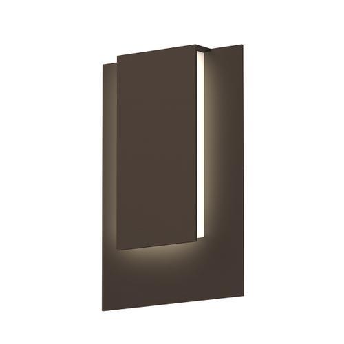 Sonneman - A Way of Light - Reveal Short LED Sconce [Color/Finish=Textured Bronze]