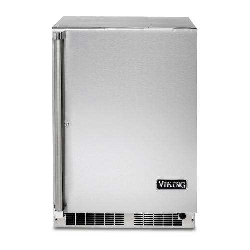 "24"" Solid Door Undercounter Refrigerator - VRUO Viking Professional Product Line"