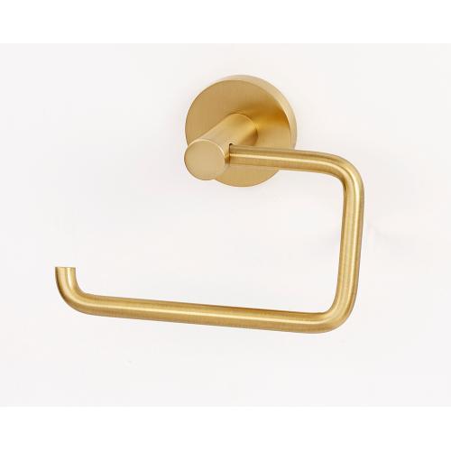 Alno Inc - Contemporary I Single Post Tissue Holder A8366 - Satin Brass