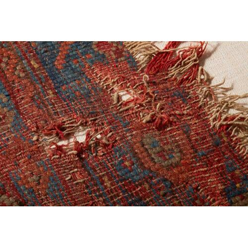 0350820020 Vintage Rug Fragment Wall Art