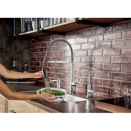 Moen - Sip Modern Chrome one-handle high arc beverage faucet