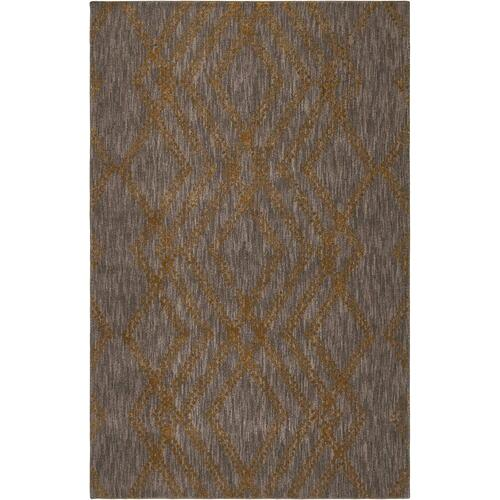 "Cosmopolitan French Affair Smokey Gray 2' 4""x7' 10"" Runner"