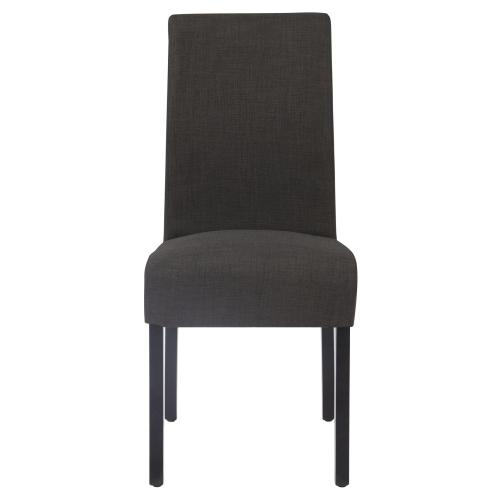 Product Image - Valencia Fabric Dining Side Chair, Charcoal