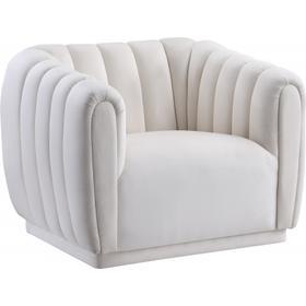 "Dixie Velvet Chair - 42"" W x 37"" D x 32.5"" H"