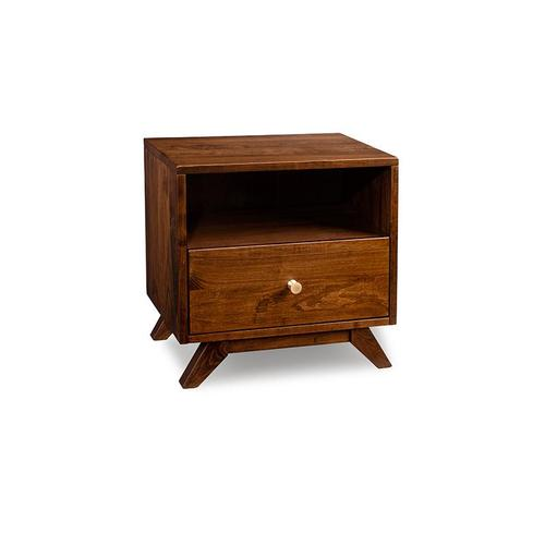- Tribeca 1 Drawer with Opening Nightstand