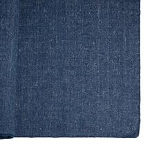 Neela I 120 x 96 Dark Blue Wool Rug