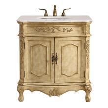 See Details - 32 In. Single Bathroom Vanity Set In Antique Beige