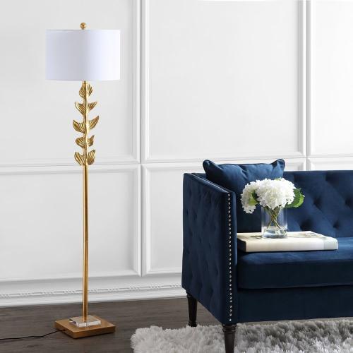 Georgiana Floor Lamp - Gold Leaf