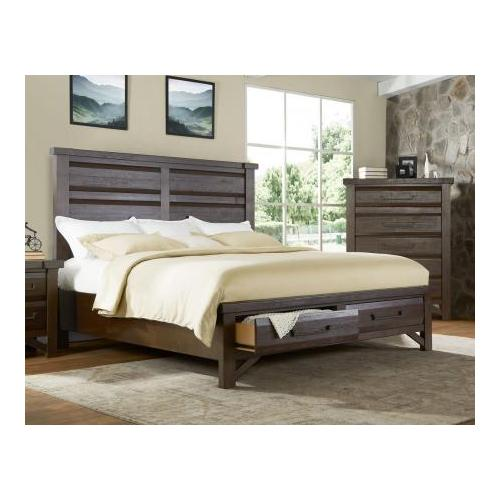 Timber Queen Bed