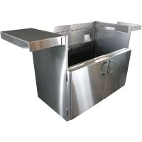 Vintage - 42-In. BBQ Cart with Two Doors